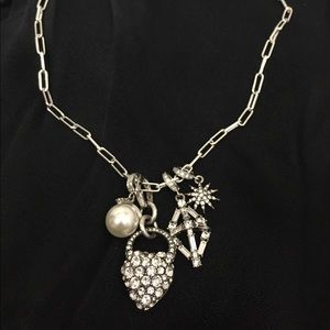 Lulu Frost Silver Charm Necklace